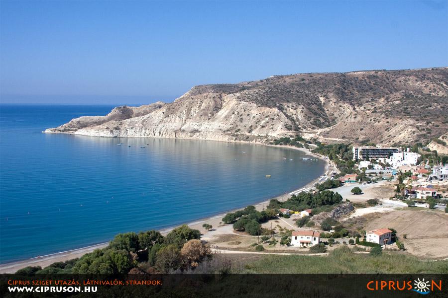 Pissouri öböl, Nyugat-Ciprus