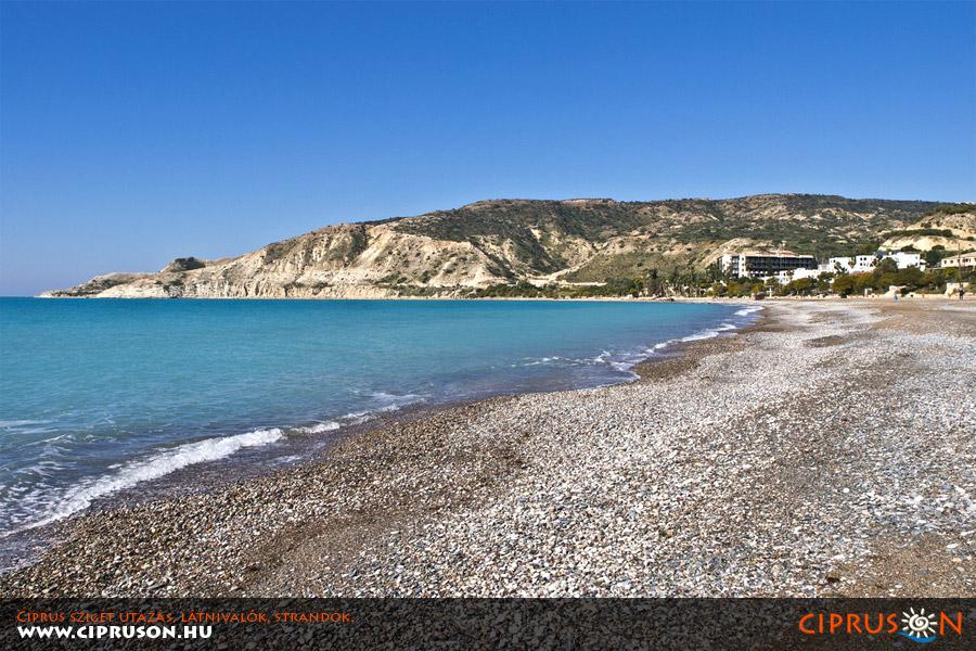 Pissouri strand, Ciprus