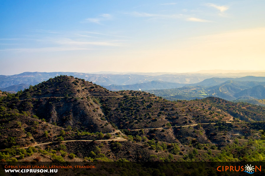 Troodos hegység, Ciprus